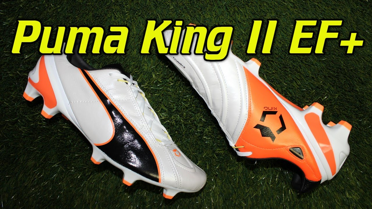 4589d4e49c0 Puma King 2 EF+ White Black Fluo Orange - Review + On Feet - YouTube