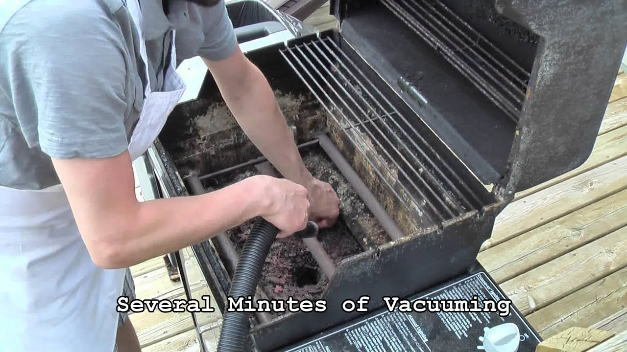 Weber Gas Grill Maintenance Cleaning Replacing Grates