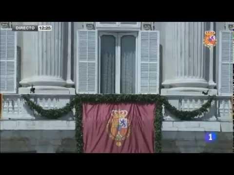 The Proclamation of King Felipe VI 2014
