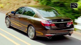 2016 Honda Accord Sport Model Sedan Test Drive (Kona Coffee Metallic) HD
