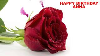 AnnaEnglish - flowers - Happy Birthday