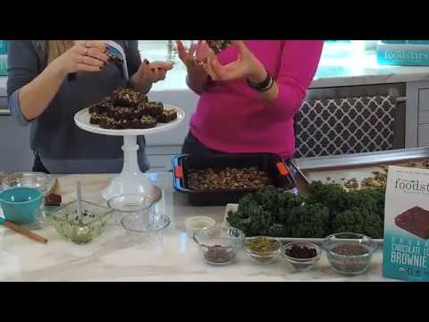 Homemade Energy Bars: Healthy Brownie Resilience Bars with D