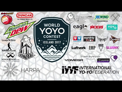 World YOYO contest 2017 Iceland Day 1 Prelims