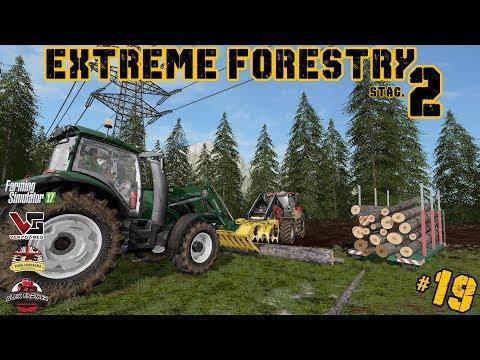 EXTREME FORESTRY STAGIONE 2 | #19 ep. - RITORNO DALLE FERIE - FARMING SIMULATOR 17