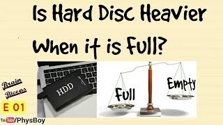 Is Hard Disk Heavier When It Is Full ? | Most Brilliant Interview Questions & Answers By PhysBoy E01