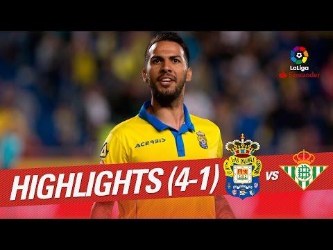 Resumen de UD Las Palmas vs Real Betis (4-1)