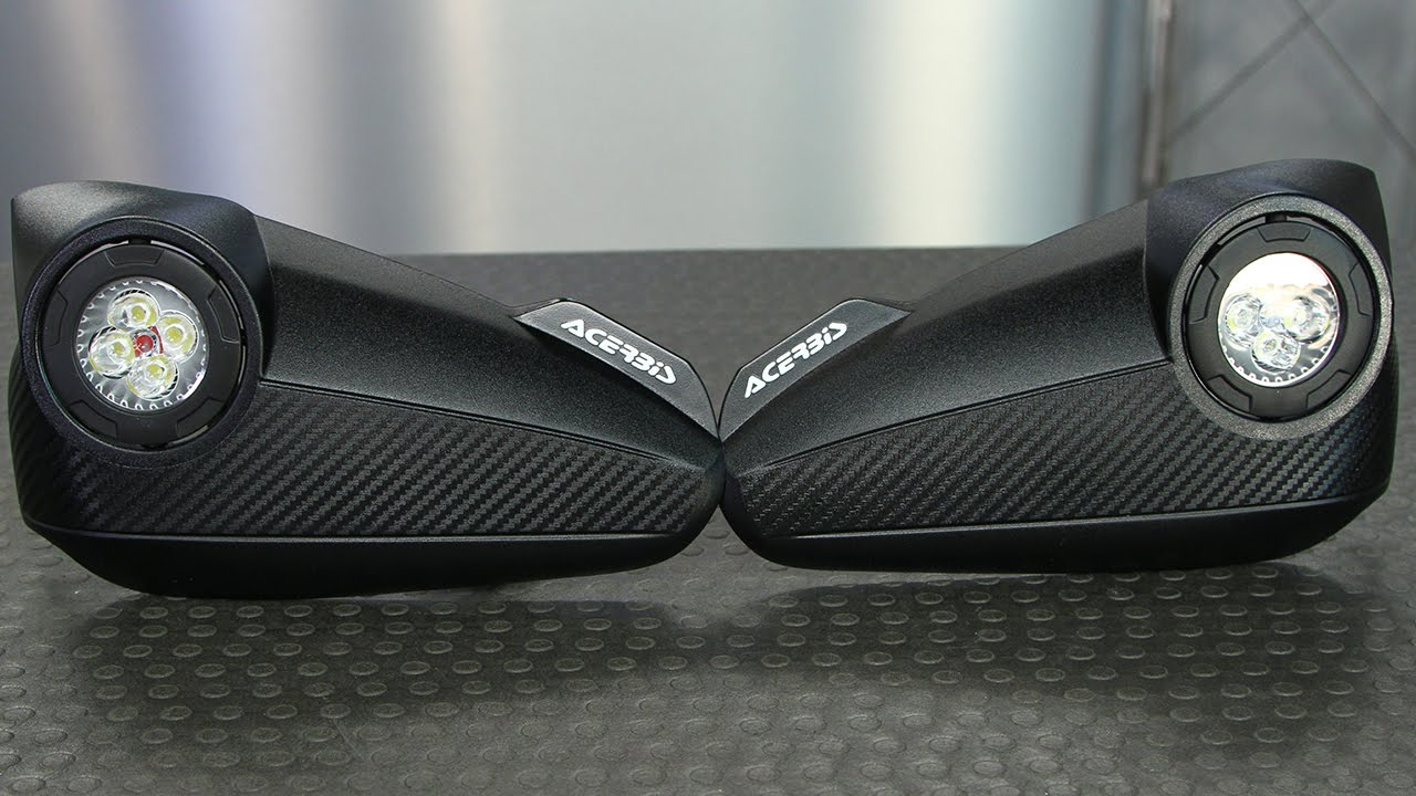 Acerbis Vision Handguards With Install Motorcycle