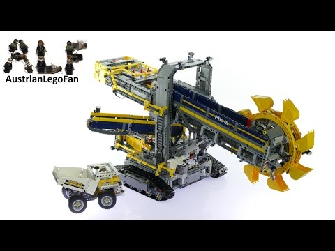 Lego Technic 42055 Bucket Wheel Excavator - Lego Speed Build Review