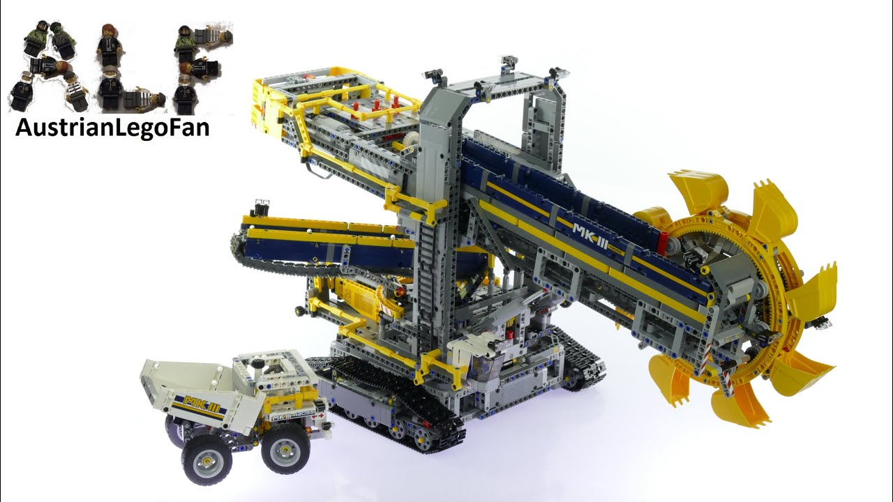 lego technic 42055 bucket wheel excavator lego speed. Black Bedroom Furniture Sets. Home Design Ideas