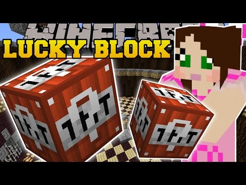 Thumbnail: Minecraft: TNT LUCKY BLOCK (EXPLODING STRUCTRES, TNT WEAPONS, & MORE!) Mod Showcase
