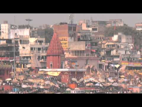 This is what Varanasi looks like in a day!