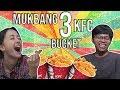 Mukbang Ayam KFC Sampe Kesurupan   Adsense Cleansound