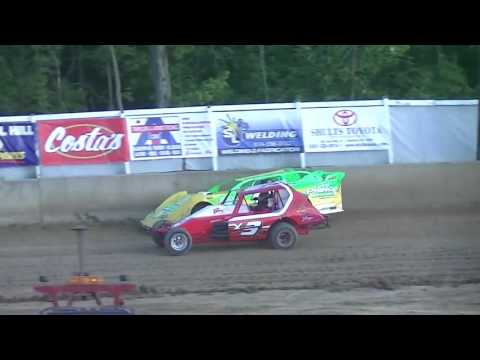 Late Model vs  Vintage Modified   Old Bradford Speedway   6 12 16