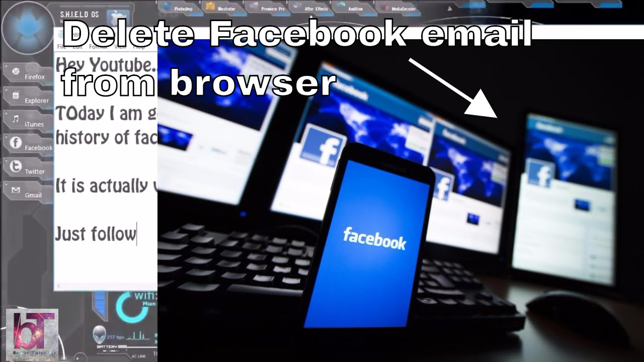 How to delete email address history from facebook easiest way how to delete email address history from facebook easiest way youtube ccuart Gallery