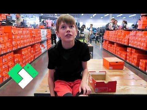 New Shoe Shopping Vlog | Clintus.tv