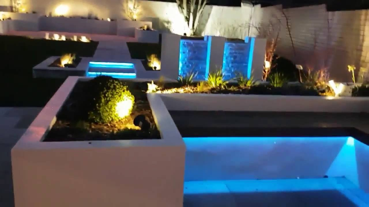 Garden Mood Lighting