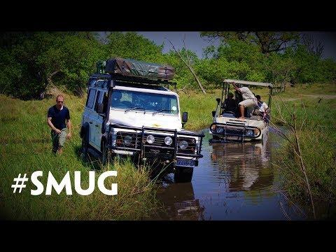 Land Rover saves Land Cruiser in Botswana