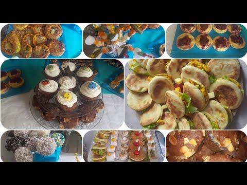 جزء-الثاني-من-تحضيرات-جميع-المملحات-والحلويات-لعيد-ميلاد-ابني-anniversaire-partie-2-préparation