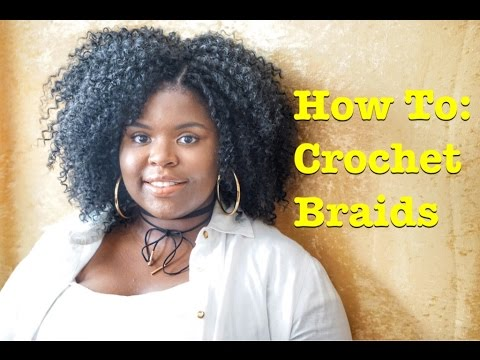 How To Crochet Braids Using Model Water Wave
