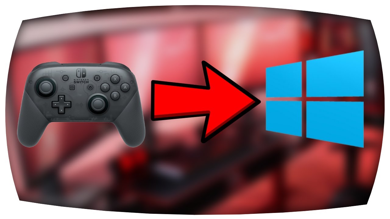 how to connect nintendo switch pro controller to pc