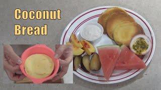 Coconut Bread Gluten & Dairy Free 2 Minute Cheekyricho Video Recipe