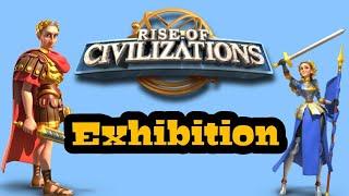 Rise of Civilizations - Julius Caesar vs Joan of Arc Battle Game Play