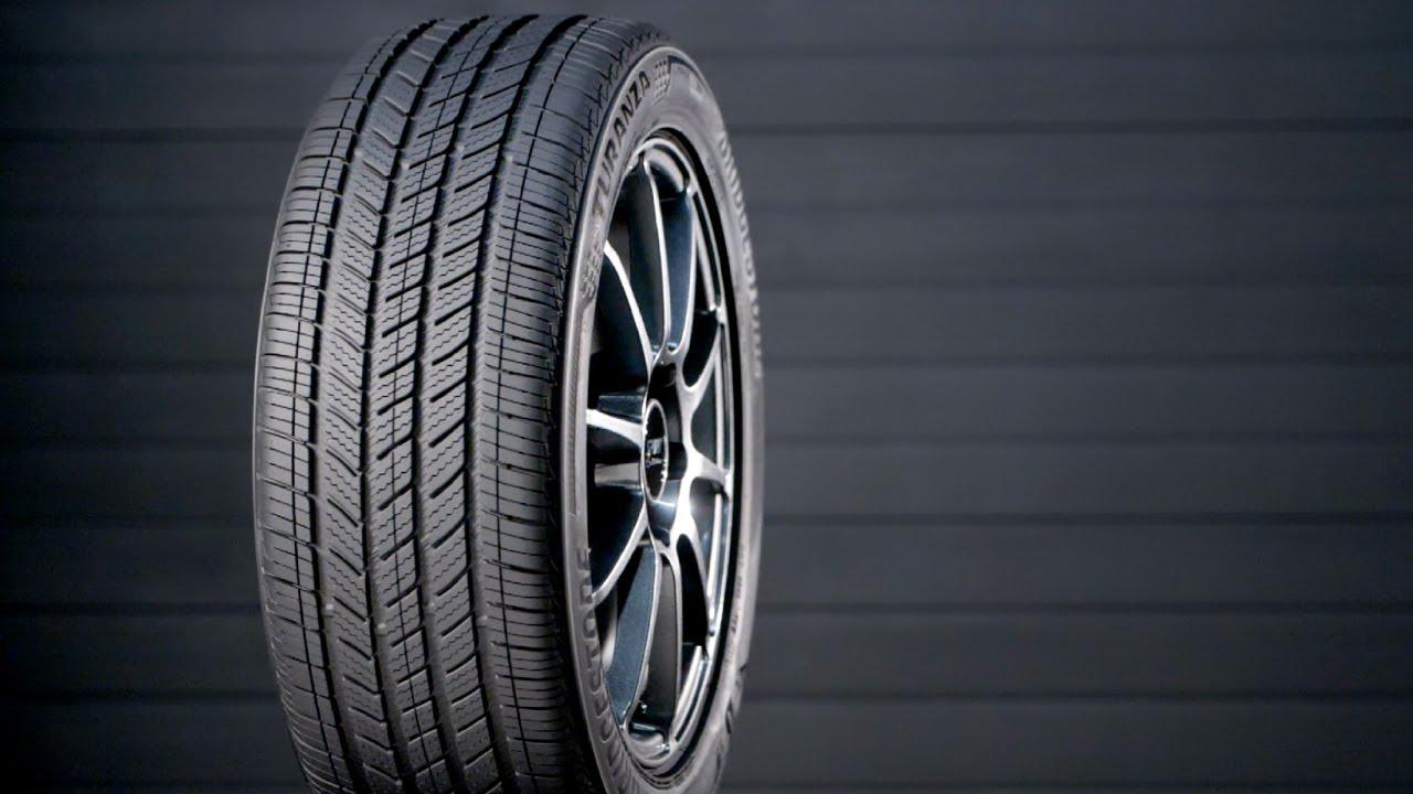 testing the bridgestone turanza quiettrack 2020 tire rack