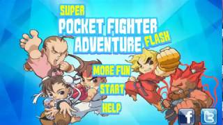 Super Pocket Fighter Adventure Flash World 1-2