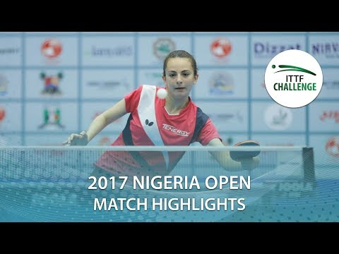 2017 Nigeria Open Highlights: Dina Meshref vs Szandra Pergel (1/2) thumbnail