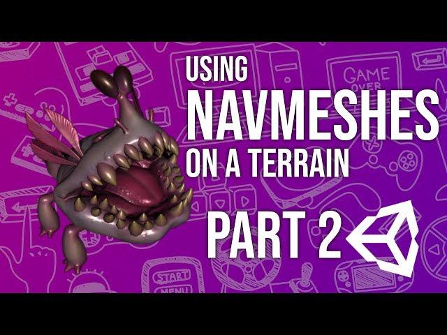 Using Nav Meshes of a Terrain Part 2