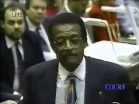 O.J. Simpson Trial Johnnie Cochran Closing Argument   Part 8