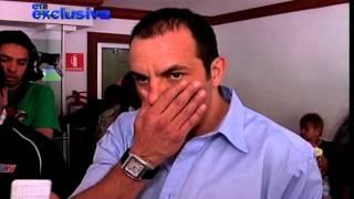 Cuauhtémoc Blanco furioso por Galilea Montijo