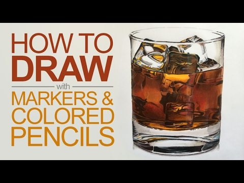 how-to-draw-with-markers-and-colored-pencils