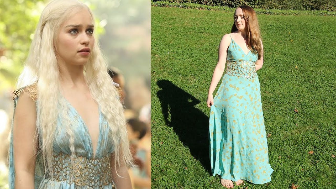 Daenerys Targaryen Easy Cosplay Diy Nerdwithamanicure