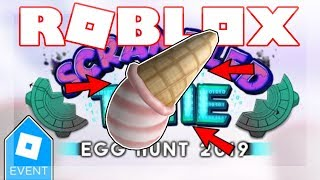 [EGG HUNT 2019 ENDED] HOW TO GET THE EGGSCREAM! | Roblox Robot 64