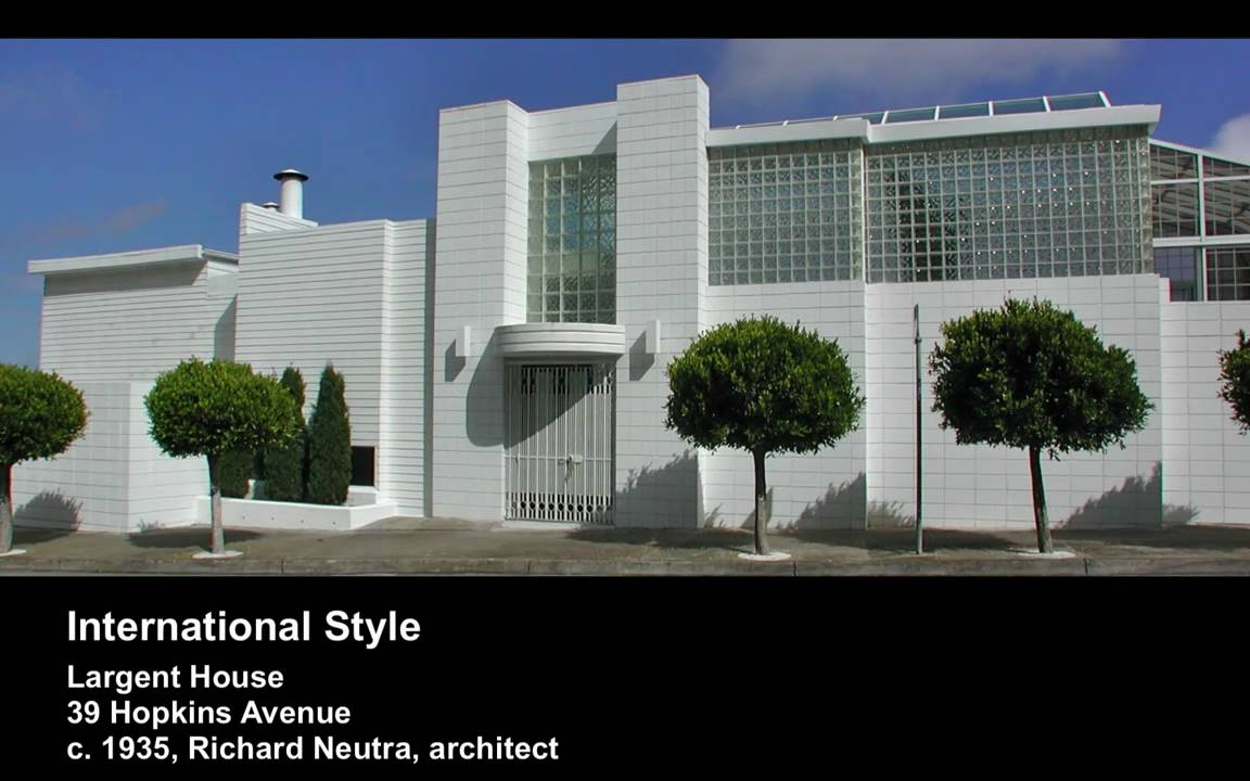International style san francisco residential Design house international