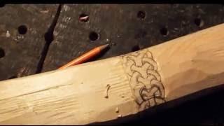 Резьба по дереву для начинающих,построение узора орнамента рисунок