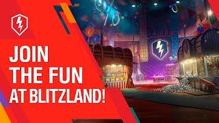 WoT Blitz. Celebrate at Blitzland Theme Park!