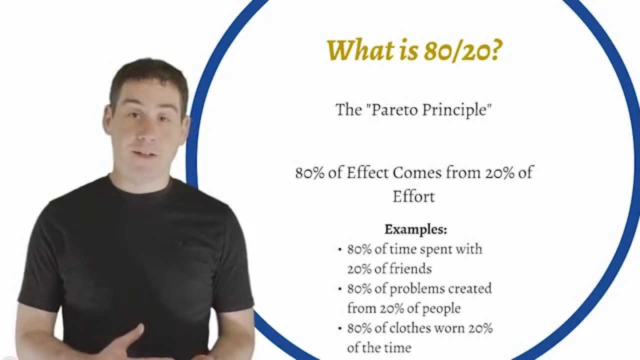 How To Find Out Whats Important To You With 8020 Analysis Youtube