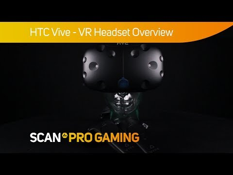 HTC Vive VR Virtual Reality Headset Bundle with 2 Wireless Gaming  Controllers
