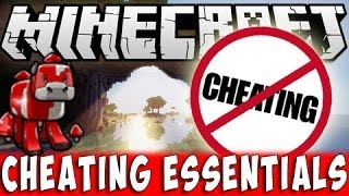 CHEATING ESSENTIALS Mod Minecraft | Cheat anything you want!