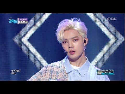 [HOT] CROSS GENE -  touch it , 크로스진 - 달랑말랑 Show Music core 20180602