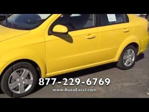 2011 Chevrolet Aveo Lt Yellow Los Angeles Ca Youtube