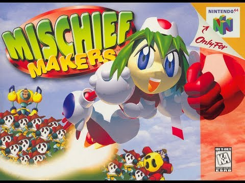 Mischief Makers [N64] review - SNESdrunk