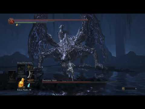 DARK SOULS™ III - Dragonslayer Greataxe vs. Midir (NG+2)