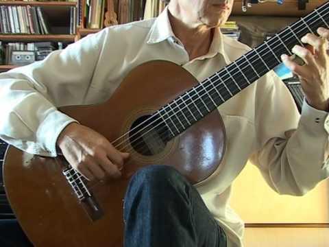 Guitars Robert Bouchet, Ignacio Fleta, Dominique Delarue compared