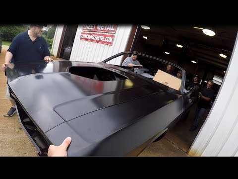 Auto Metal Direct AMD Installation Center/1970 Challenger convertible with Gabes HobbyShop