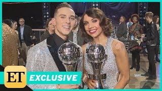 Adam Rippon and Jenna Johnson Gush Over Winning 'Dancing With the Stars: Athletes' (Exclusive)