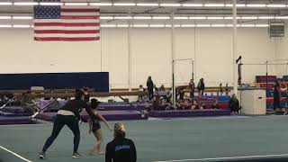 1st competition Floor routine