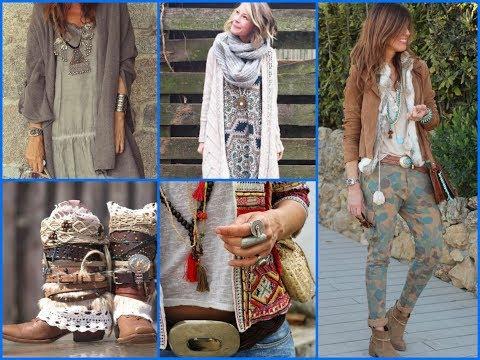 Fall Boho Outfits Inspirations -  Bohemian Fall Fashion Trends